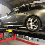 Audi A6 estate 4 wheel alignment Hartley