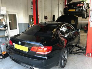 Vehicle repair BMW m sport 335i new barn
