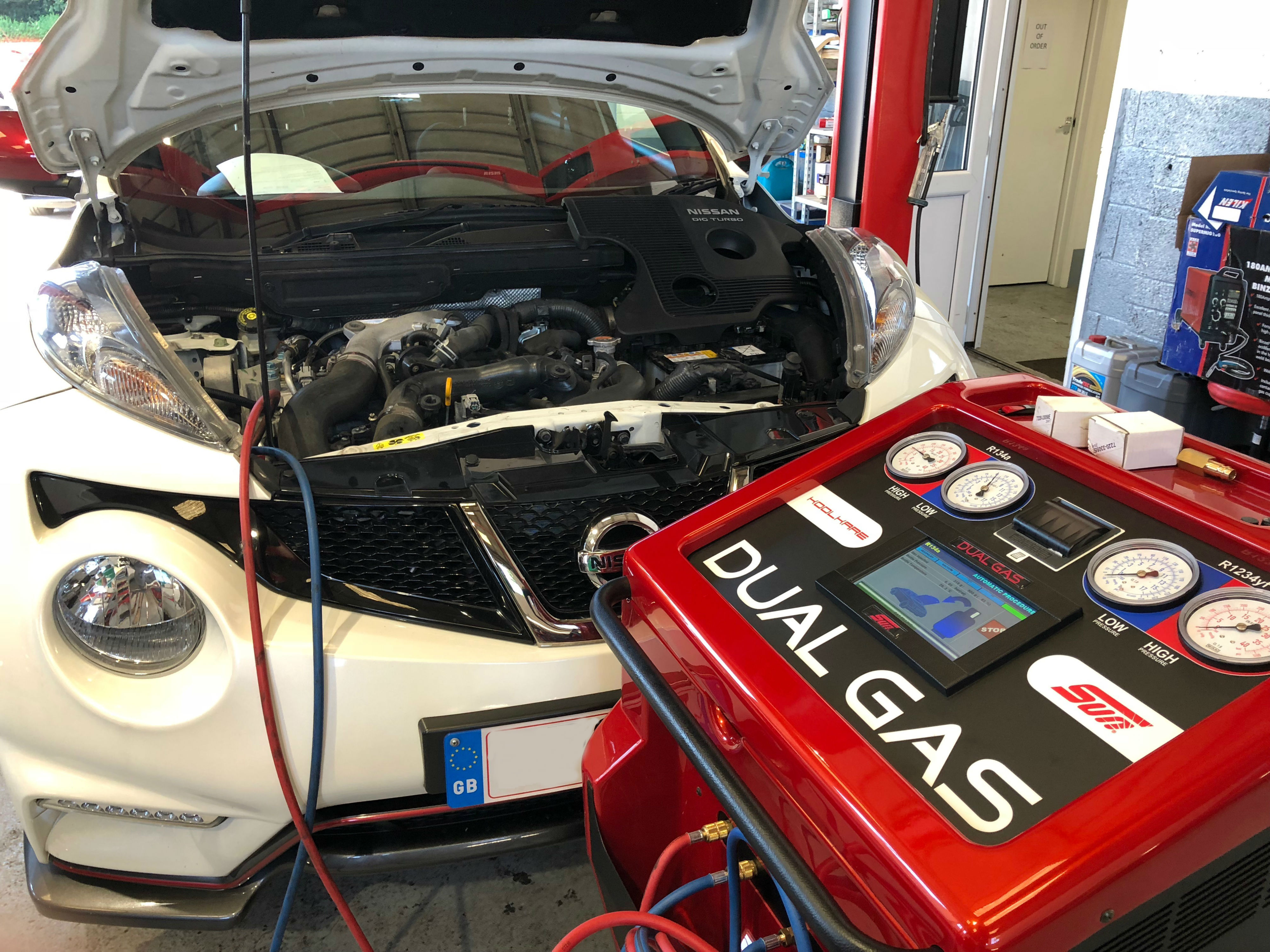 Hartley Garage Air con check up nissan juke cars longfield