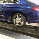 Wheel alignment Mercedes benz c220 coup Hartley