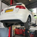 intermediate service S line Audi A3 Hartley