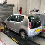 Mot test service Volkswagen up